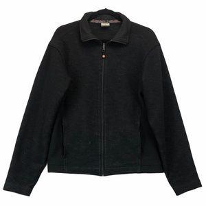 Lululemon Wool Zip Jacket Black Medium